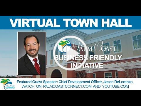 Virtual Town Hall: Business-Friendly Initiative