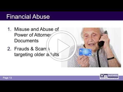 WEL Partners on Elder Law - Video Presentation (June 2020)