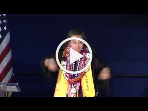2019 HS Graduation Val Presentation - Malia Zornoza