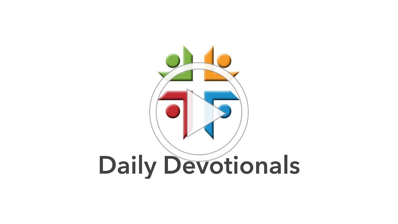 Daily Devotionals - April 20