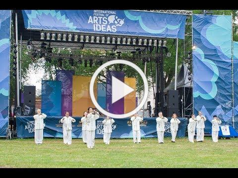 Aiping Tai Chi Center at the 2019 International Festival of Arts and Ideas