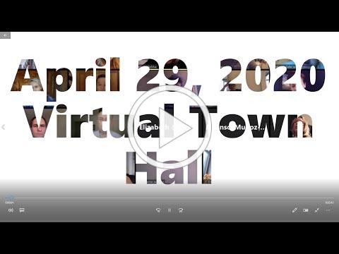 April 2020 Monthly Meeting: YANA Virtual Town Hall