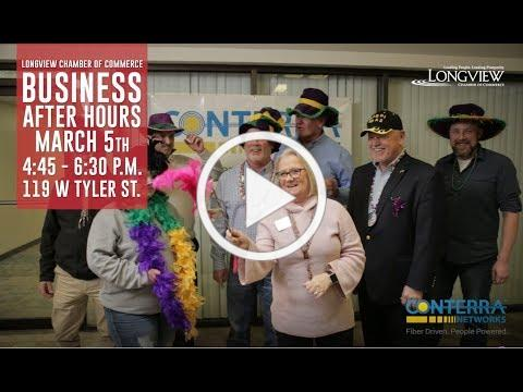 2019 Business After Hours Conterra Networks