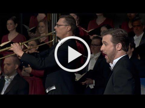 """""""The Trumpet Shall Sound"""" from Handel's Messiah - American Bach Soloists"""