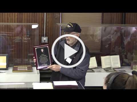 WB Historical Commission: Jim Benson Memorial Dedication