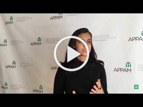 2018 APPAM Dissertation Award