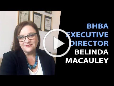 Meet the new BHBA Executive Director Belinda Macauley!
