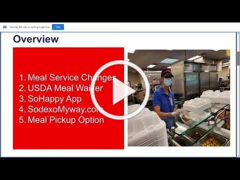 Sodexo Food Service Update