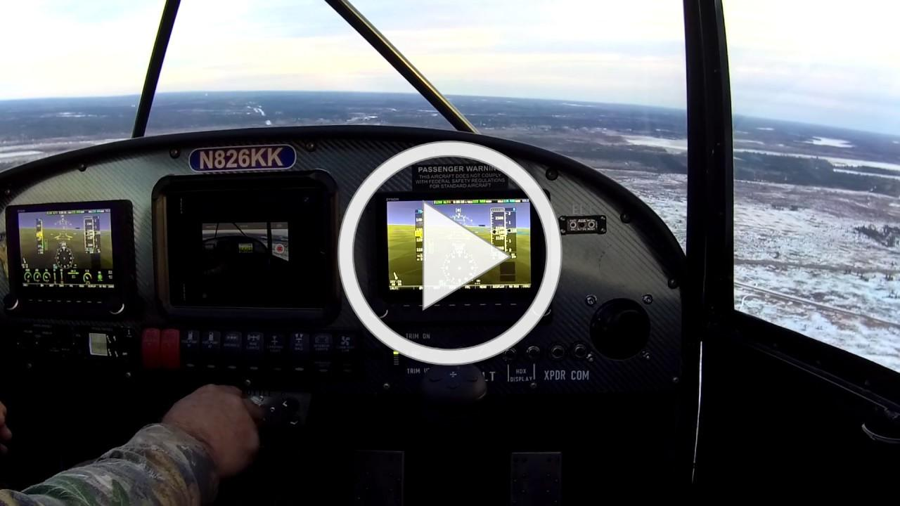 Rans S-20 going through152mph straight and level for one time speed test.