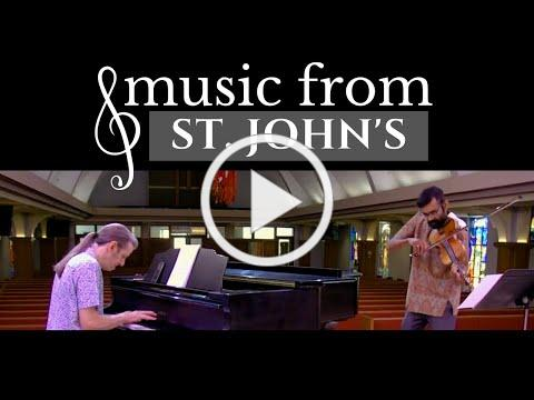Music from St. John's | Muni Kulasinghe & Jim Ahrend