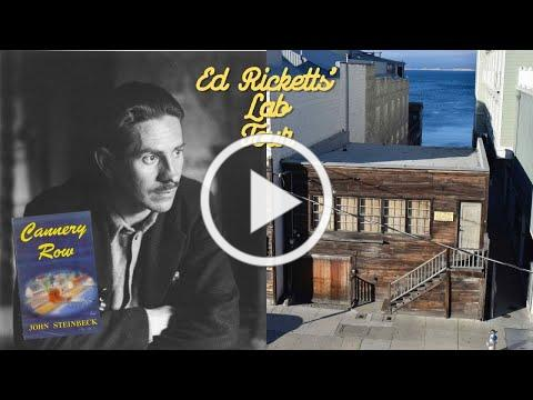 Ed Ricketts' Lab Virtual Tour // Cannery Row Days 2020
