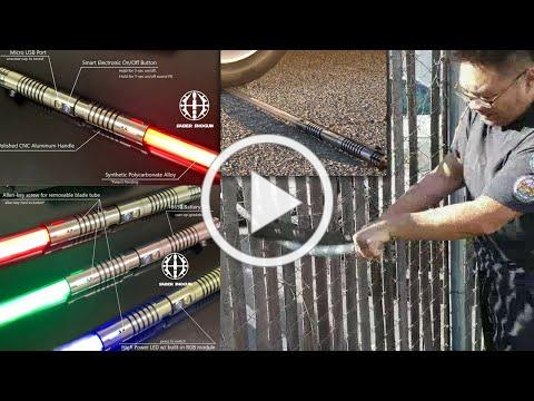 Saber Shogun Light Sword - incredibly tough and affordable battle ready light saber