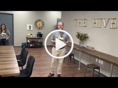 THE HIVE- Lewisville Chamber of Commerce Co-work Space