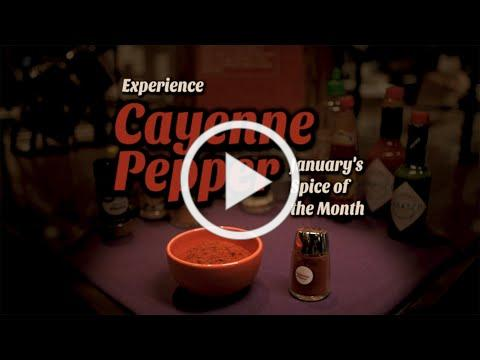 Cayenne Pepper: January's Spice of the Month