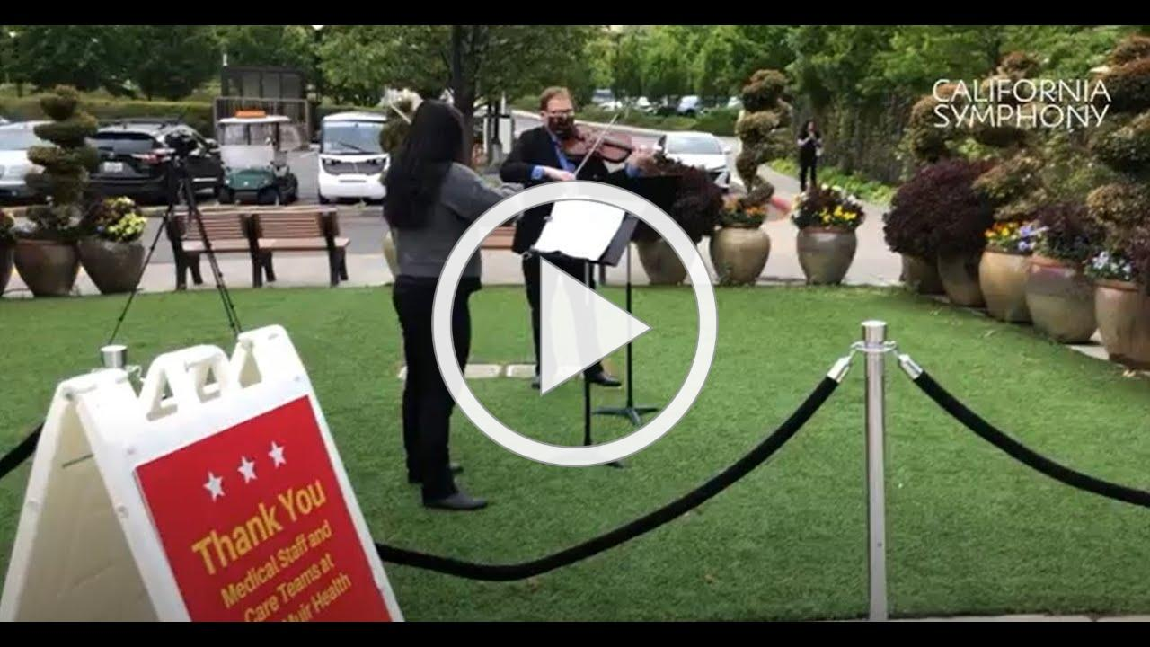 California Symphony #MozartforMedics