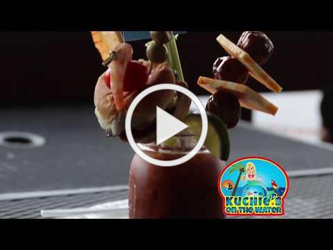 Plate of the Month April 2018 - Kuchie's on the Water - Shipwreck Bloody Mary