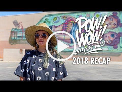 POW!WOW!AV 2018 RECAP