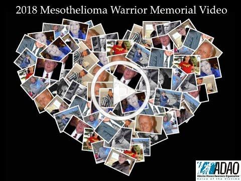 ADAO's 2018 Mesothelioma Warrior Memorial Video
