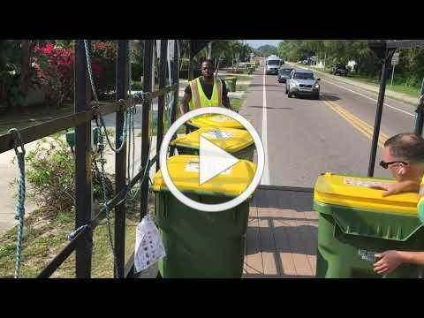 Recycling Cart Delivery