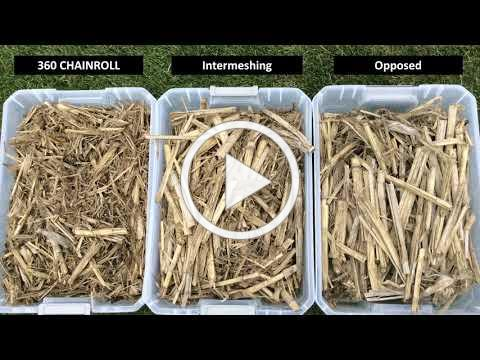 Improved Residue Management with 360 CHAINROLL