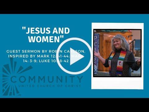 Guest Sermon by Robin Carlson, March 14, 2021