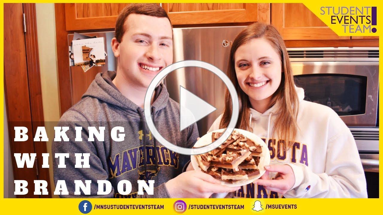 Baking With Brandon Episode 2: Twix Cookie Bars