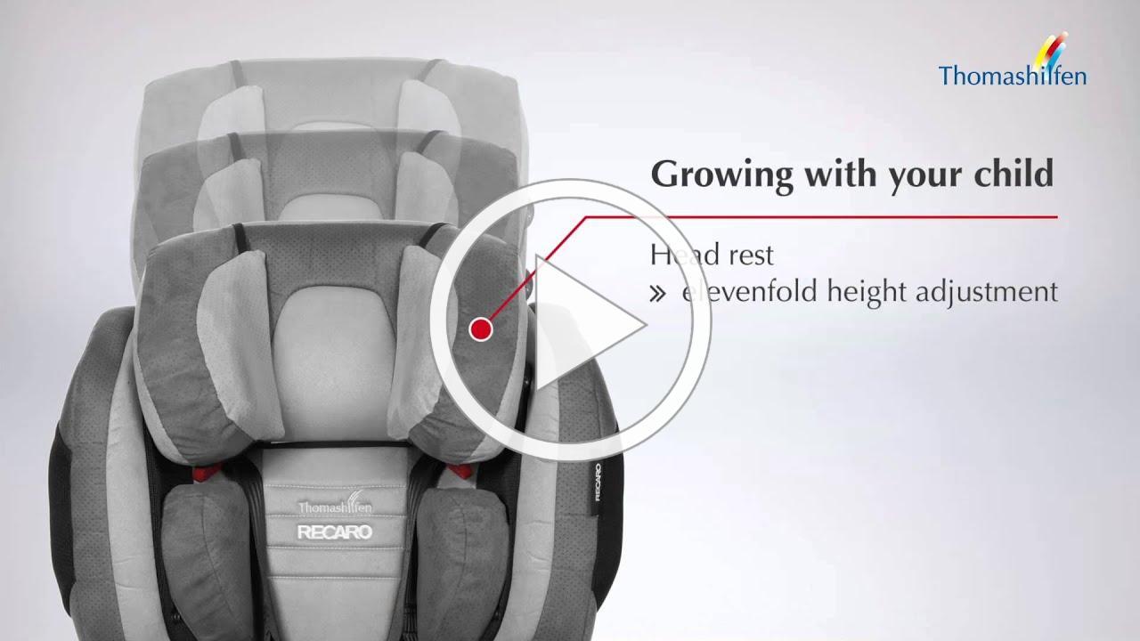 RECARO Monza Nova 2 Reha - Lightweight car seat exceeds highest safety standard