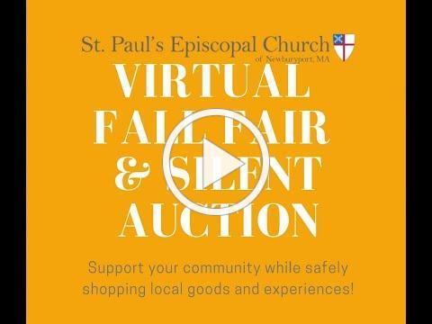 Introducing St. Paul's Virtual Fall Fair!