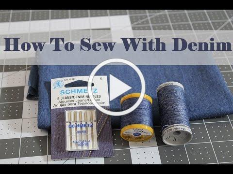 Sewing with Denim: Tips and Tricks to Make it Stress Free