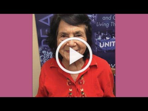Dolores Huerta - Lights for Liberty  July 12_ 2019