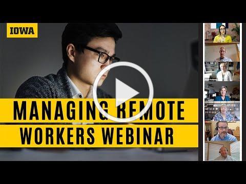 Managing Remote Workers Webinar