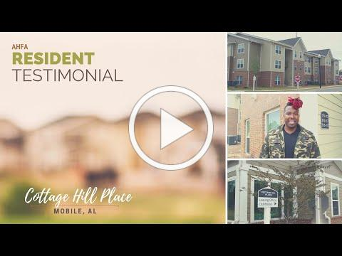 Resident Testimonial: Cottage Hill Place, Mobile