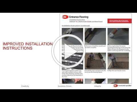 Construction Specialties Product Webinar