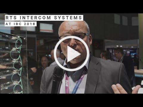 RTS Intercoms at IBC 2018