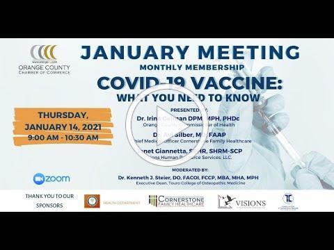 January 2021 Membership Meeting