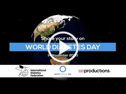 "World Diabetes Day 2020 - ""Diabetes Matters"" promotional video"
