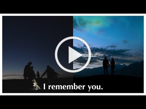 I Remember: Our Memories Help Create Our Shared Humanity