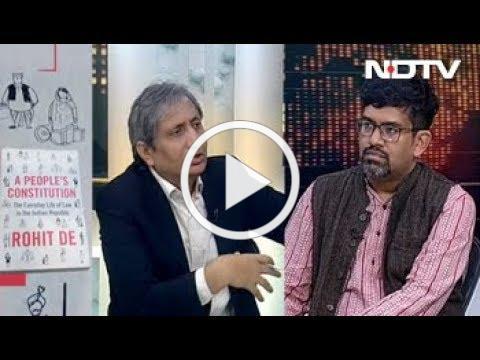 Prime Time With Ravish Kumar, Nov 23, 2018 | रोहित डे की किताब में संविधान से ज़ोर आज़माइश के किस्से
