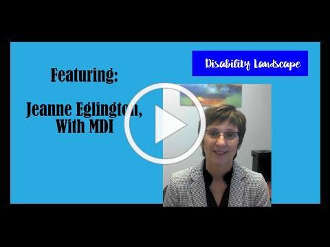 Disability Landscape featuring MDI