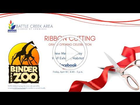 Binder Park Zoo   Mexican Gray Wolves Ribbon Cutting