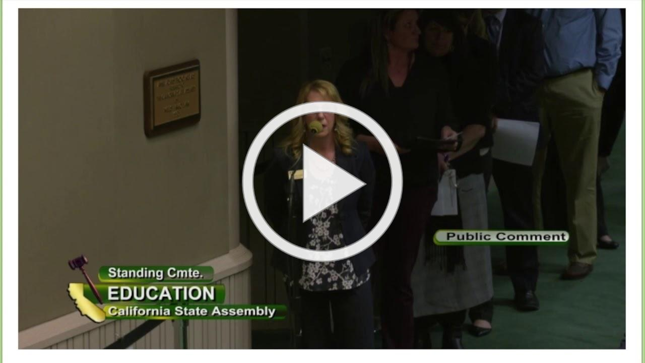 MetroED Superintendent Alyssa Lynch Advocates for CTE Center Funding at California State Assembly