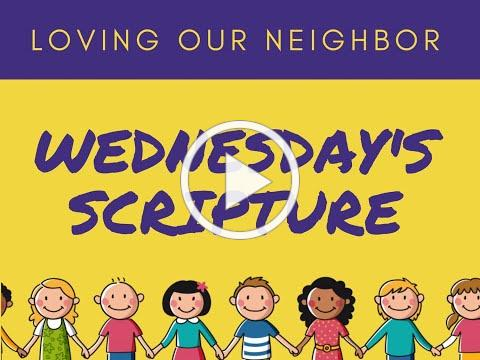 VBS 2020 Wednesday Scripture/Compassion