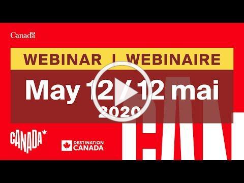 Industry Webinar (May 12, 2020) / Webinaire pour l'industrie (12 mai 2020)