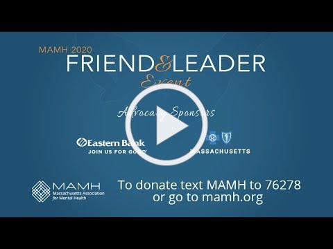 MAMH 2020 Friend & Leader (Virtual Event)