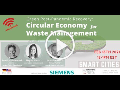 Circular Economy for Waste Management (#SmartCities series)