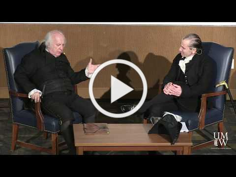 Presidents' Day Presidential Conversation with James Monroe and James Madison
