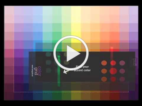 Gail Callahan, The Kangaroo Dyer, Demonstrates How to Use The Color Grid