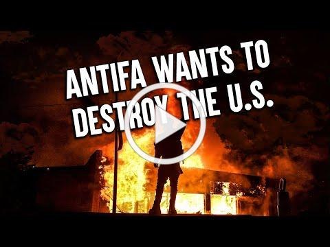 Terrorist organization ANTIFA wants to destroy America and is responsible for violent riots