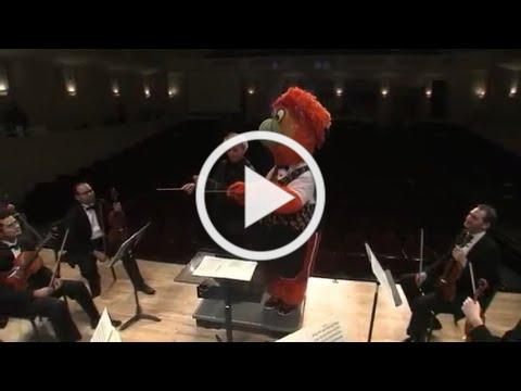 """Burnie conducts Miami Symphony Orchestra """"In the Hall of Mountain King"""""""