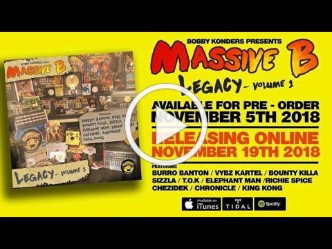 Massive B medly video ft Vybz Kartel, T.O.K. , Elephantman, Richie Spice , Chezidek , Burro Banton